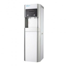Hot and cooler water dispenser with RO/UF system