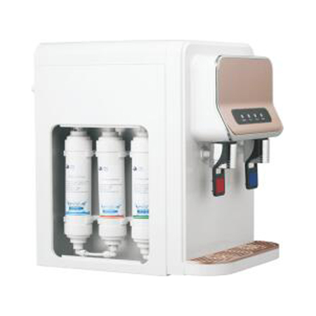 small counter top 3 stage RO/UF systerm hot cold water compressor cooling water filter dispenser Featured Image