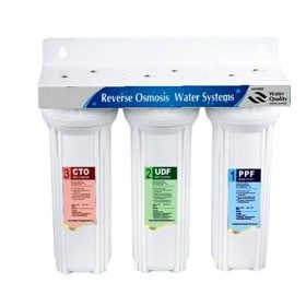 Under sink 3 stage water filters system