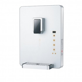 White quickly heat touch screen wall-mounted water dispenser